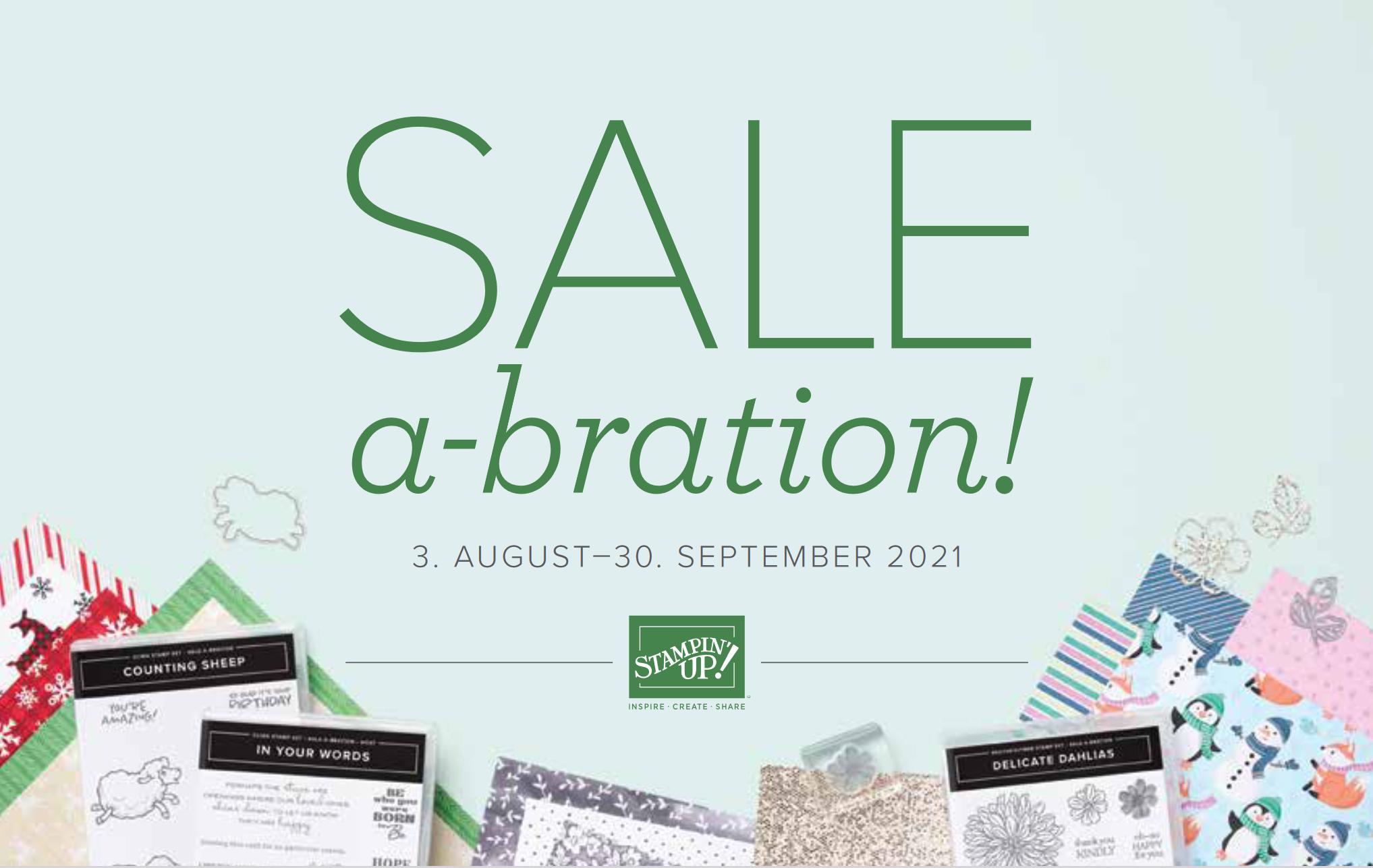 Sale-a-bration 02/2021
